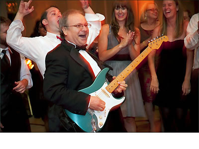 Guitar Solo from the Dance Floor